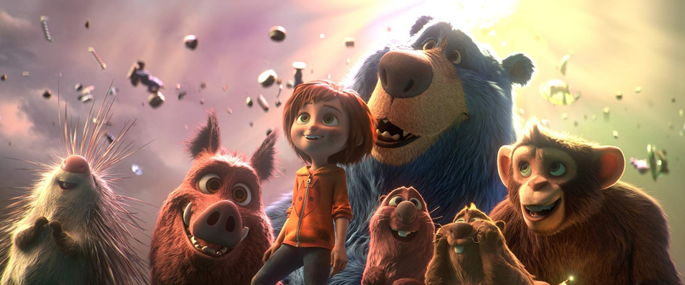 June and the park's animal friends - Wonder Park