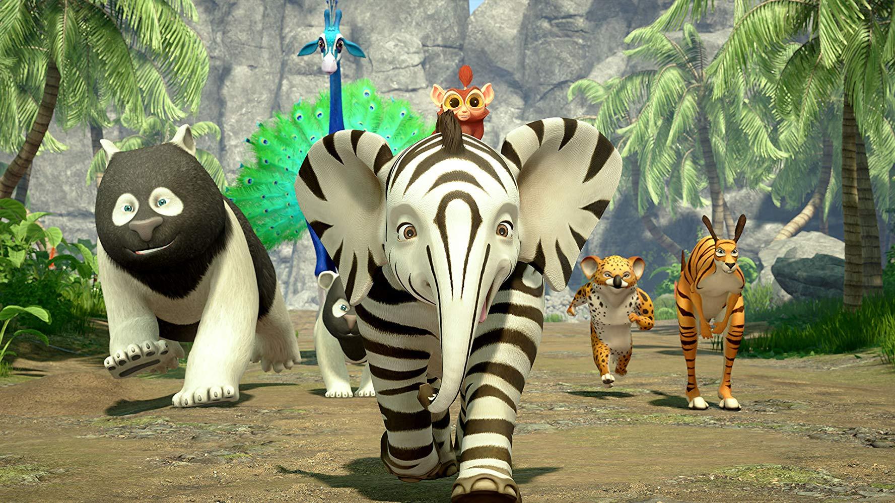 Zafari - animoitu sarja