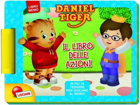 Daniel Tiger Books - Libro de acciones