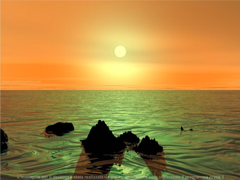 Sfondi per il desktop tramonti 800x600 for Sfondi desktop tramonti mare