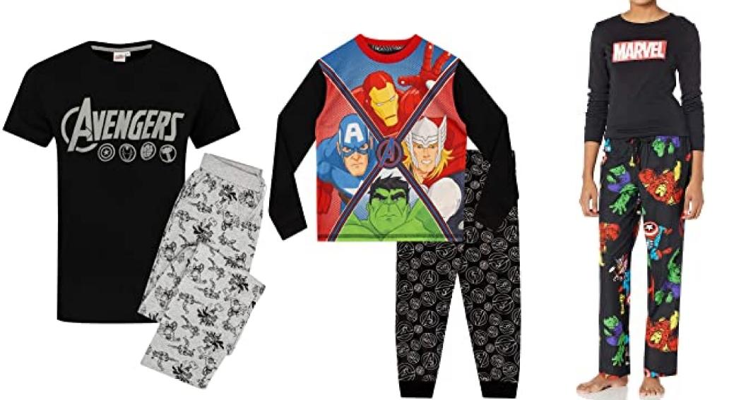 Pijama de los vengadores