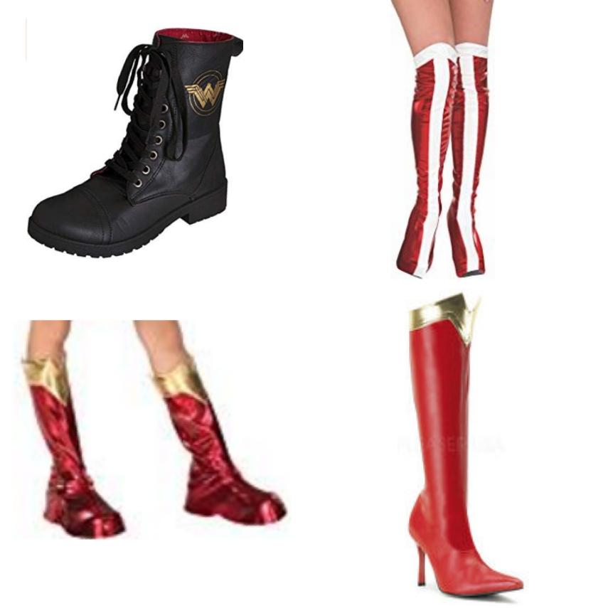 nuovi speciali rivenditore online selezione straordinaria Stivali Wonder Woman