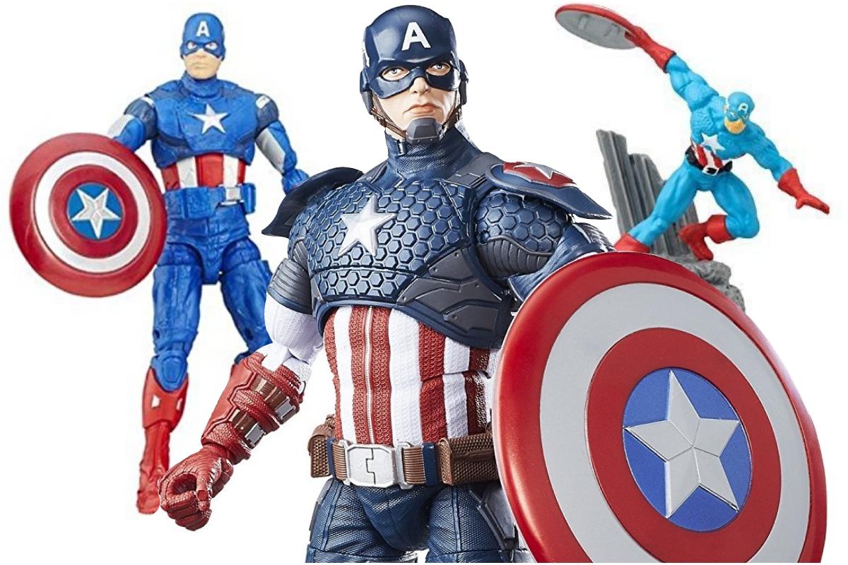 actiefiguren Captain America