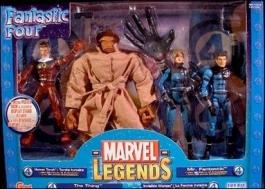 Fantastiska fyra actionfigurer