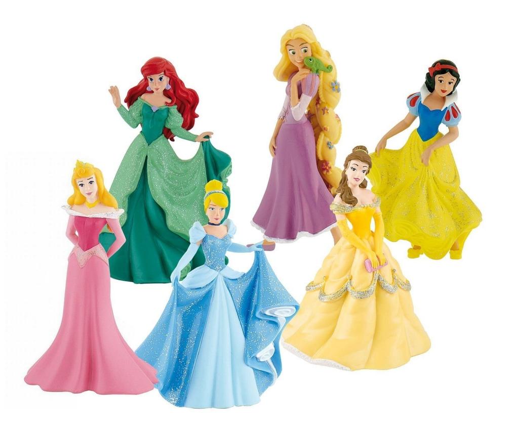 Actionfigurer från Disney Princesses
