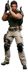 Åtgärdssiffror Chris Redfield - Resident Evil 5