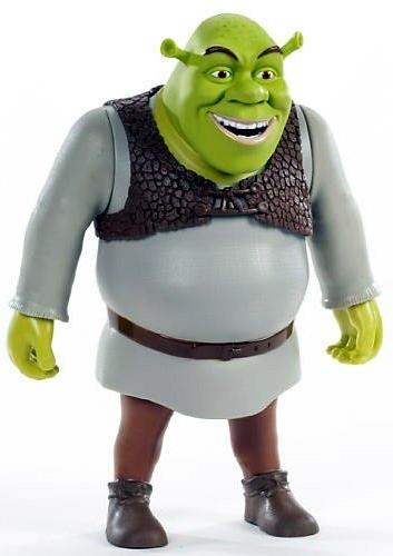 Åtgärdssiffror av Shrek