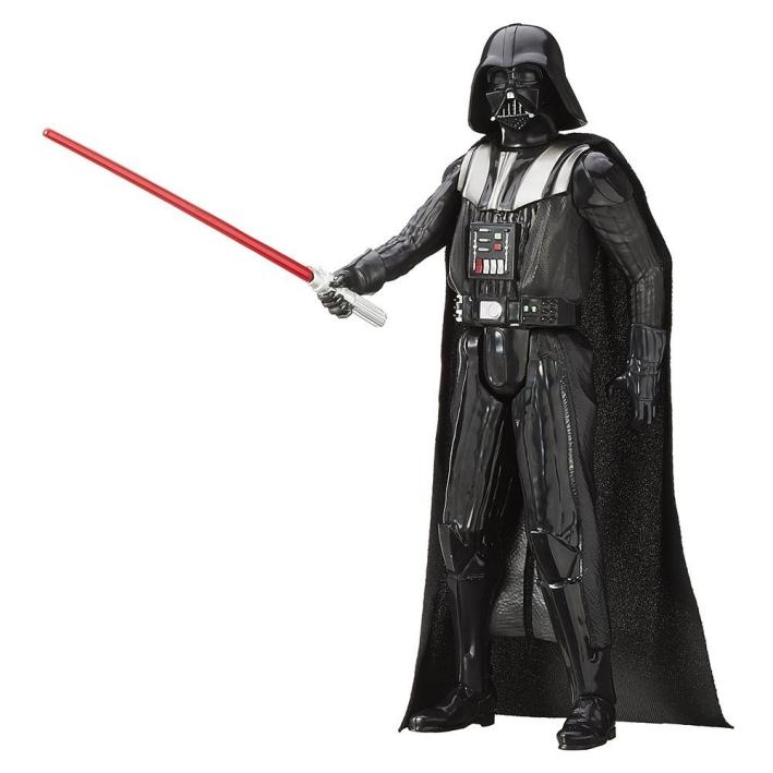 """3.75/"""" Darth Vader Star Wars 2005 da collezione figure e Spada Laser Giocattolo Arma"""