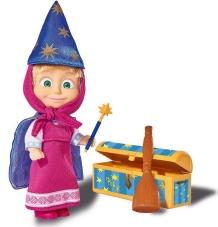 Masha con cofre mágico, 12 cm.