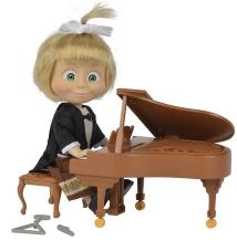 Pianista Masha muñeca 12 cm.