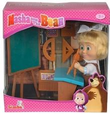 Masha y el oso - Masha en la escuela, 12 cm.