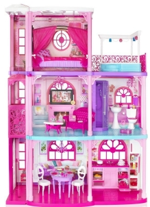 Casa di barbie for Piani di piscina gratuiti online