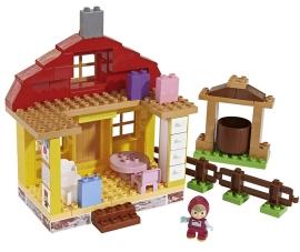 Mascha Construction Masha's House, med en karaktär ingår, 95 delar