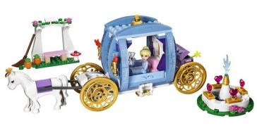 El carruaje de Cenicienta - Lego Disney Princess