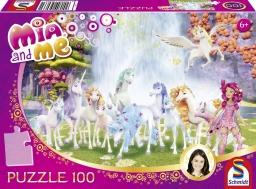 Puzzle 100 bitar - Mia and Me