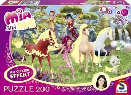 Puzzle 200 bitar - Mia and Me