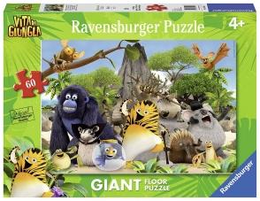 Ravensburger Italie 05496 1 - Puzzle de la vie dans la jungle: à la rescousse!