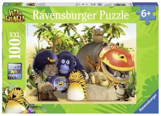 Puzzle pour les enfants Jungle Life: Rescue! 100 pieces