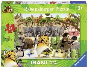 Puzzle de la vie dans la jungle: sauvetage! 24 pièces géant