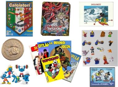 Collectibles met stripfiguren en stripfiguren