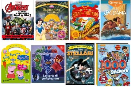 De boeken over stripfiguren en strips