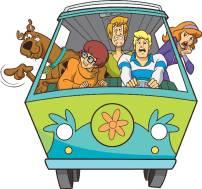 Freddy, Shaggy, Dafne, Velma e Scooby Doo