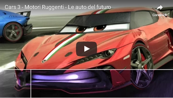 Video di cars motori ruggenti