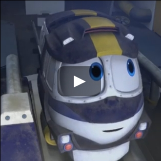 Robot Trains video