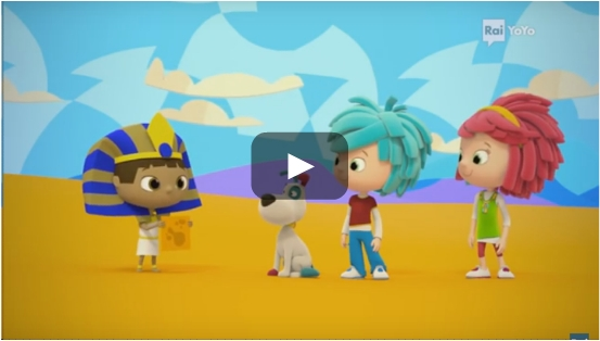 Video del cartone animato yo yo