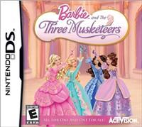 Barbie E-videopelit ja kolme muskettisoturia Nintendo DS