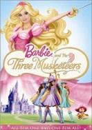 Barbie E -pelejä ja kolme Nintendo WII -pelaajaa