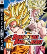 Dragon Ball z Raging Blast-videogames voor PlayStion 3