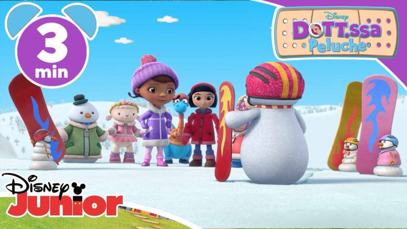 Dottoressa Peluche | Salvataggio nella neve – Disney Junior Italia