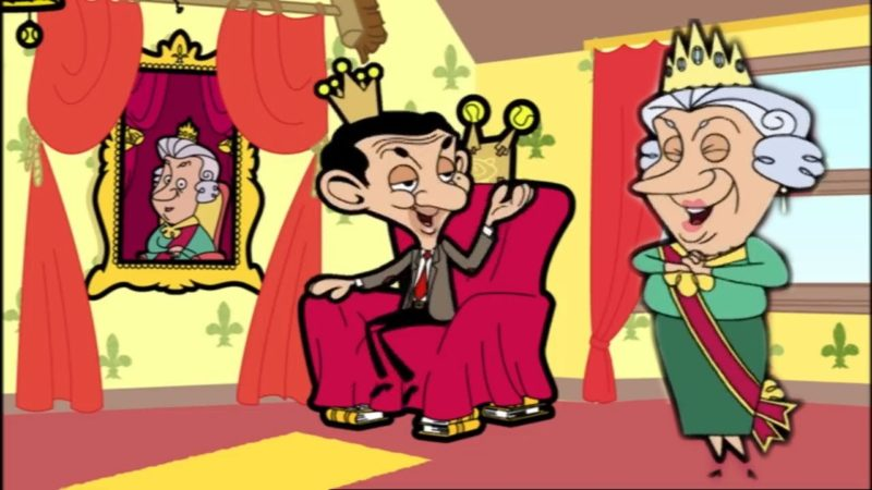 QUEEN y KING Bean ?! El | Episodios divertidos Mr Bean Cartoon World