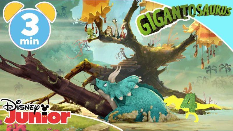 Gigantosaurus | I 5 momenti del gioco di squadra – Disney Junior Italia