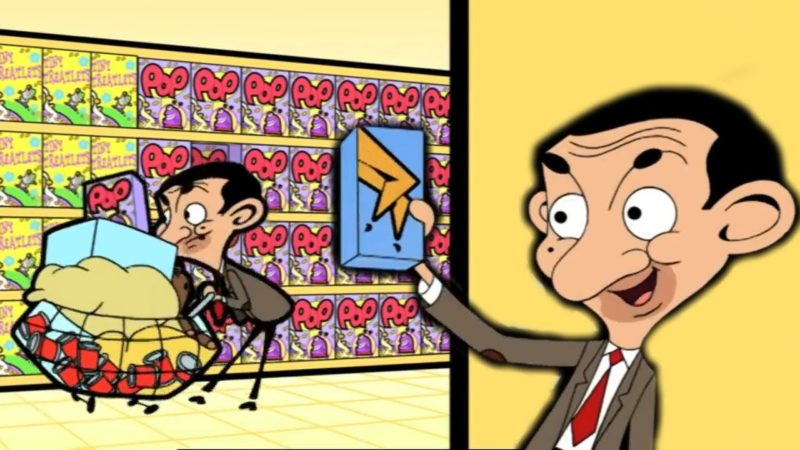 COMPRA con Mr Bean | Episodios divertidos Mr Bean Cartoon World