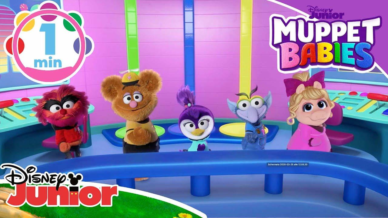 Muppet Babies | La navicella di Piggy – Disney Junior Italia