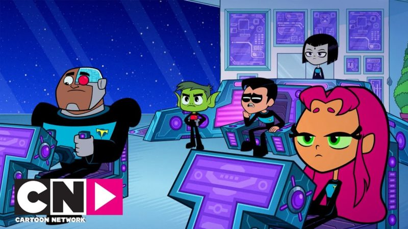 Missione interstellare | Teen Titans Go! | Cartoon Network Italia