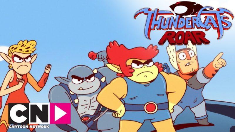 Gatti vs Robot | TunderCats Roar | Cartoon Network Italia