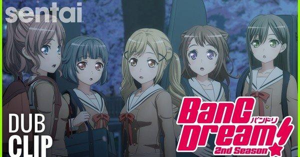 HIDIVE Stream BanG Dream! Dub inglese 2a stagione Anime – Notizie