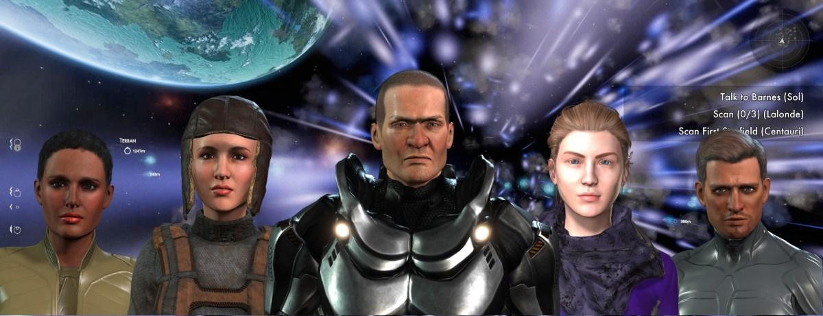 Solo Indie Developer crea personaggi 3D animabili per il gioco di ruolo di Space Opera – Reallusion Blog