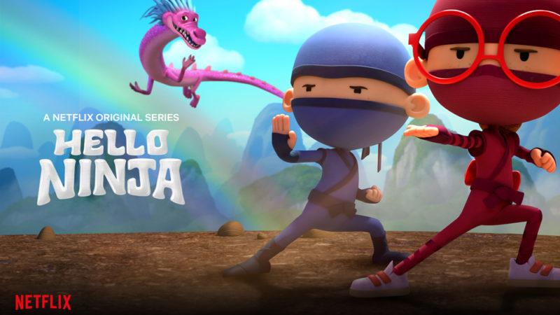 La stagione 2 di Hello Ninja si maschera su Netflix il 24 aprile