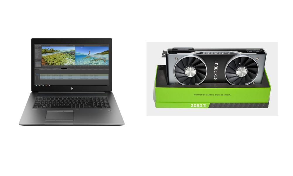 Recensioni Tech di aprile: Nvidia GeForce RTX 2080 Ti, HP ZBook 17G6