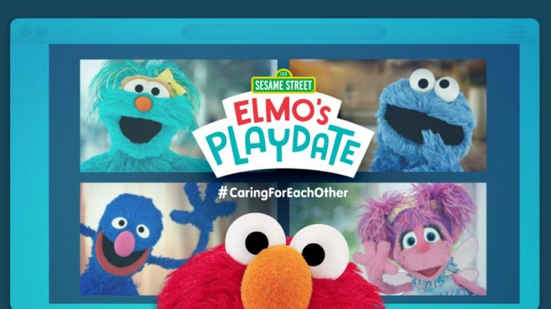 Tutte le reti di WarnerMedia in onda 'Sesame Street: Elmo's Playdate' contemporaneamente 14 aprile