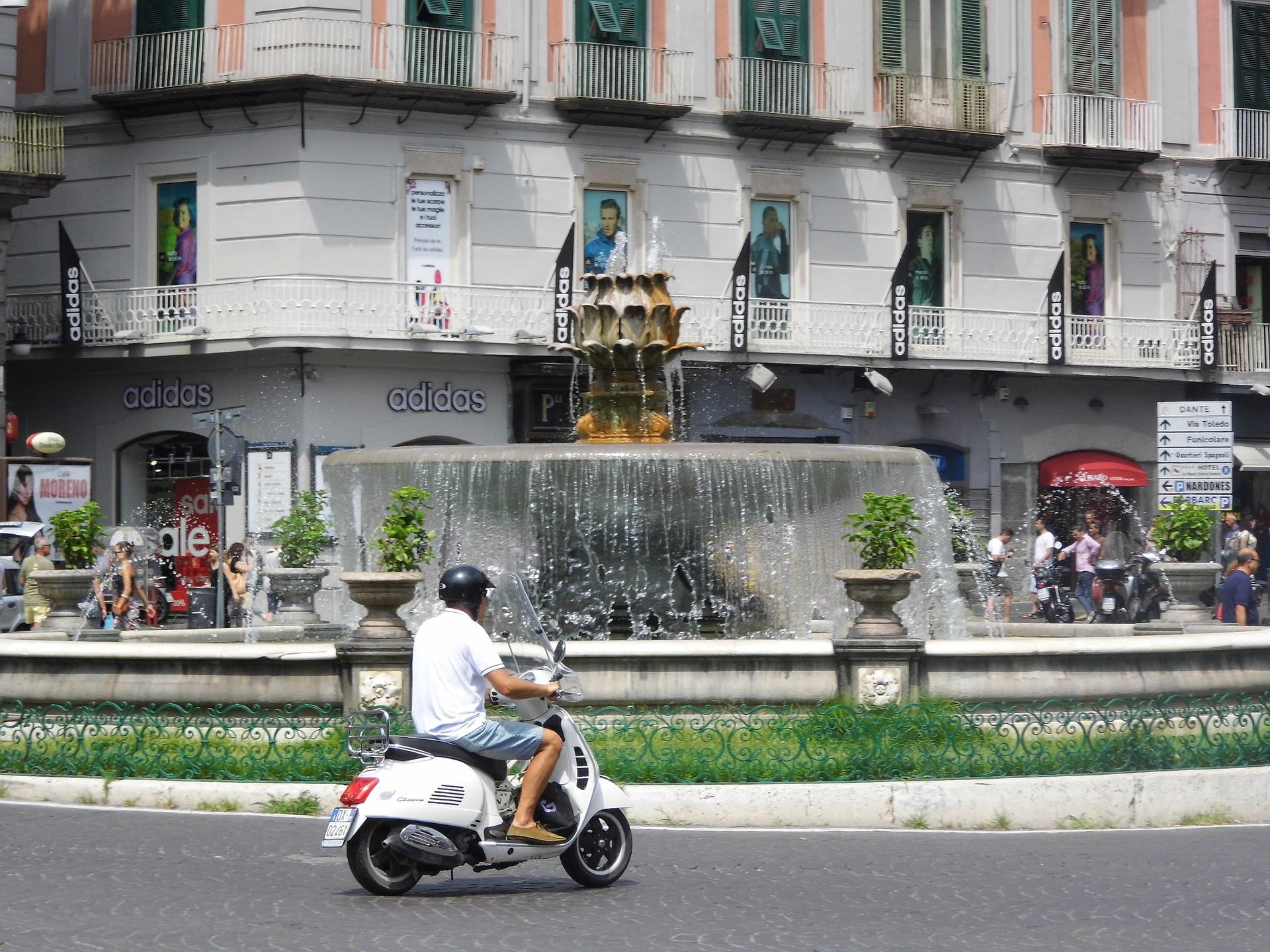 Virtual 360 Vespa Ride Around Rome