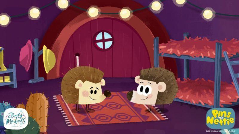 """Il Daily Madness debutta venerdì nella serie Play-At-Home """"Pins and Nettie"""""""