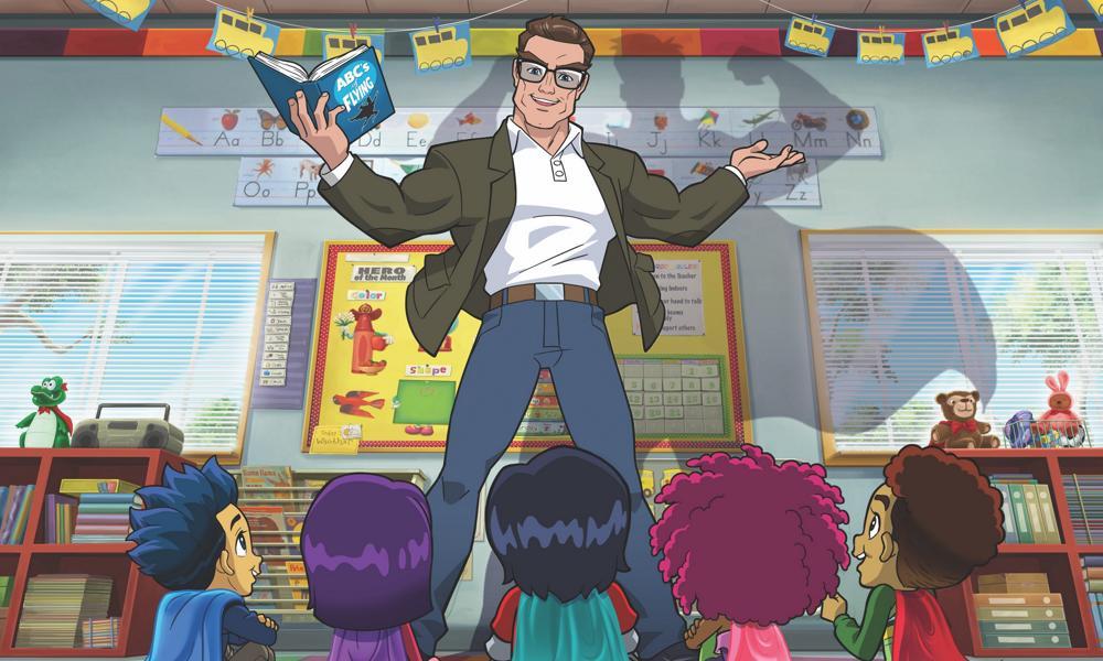 """Stan Lee's Superhero Kindergarten"" in anteprima su Amazon nella primavera del 2021"