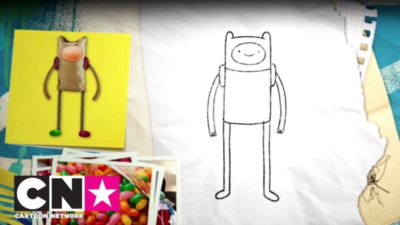 Come disegnare Finn | CN insieme | Cartoon Network Italia
