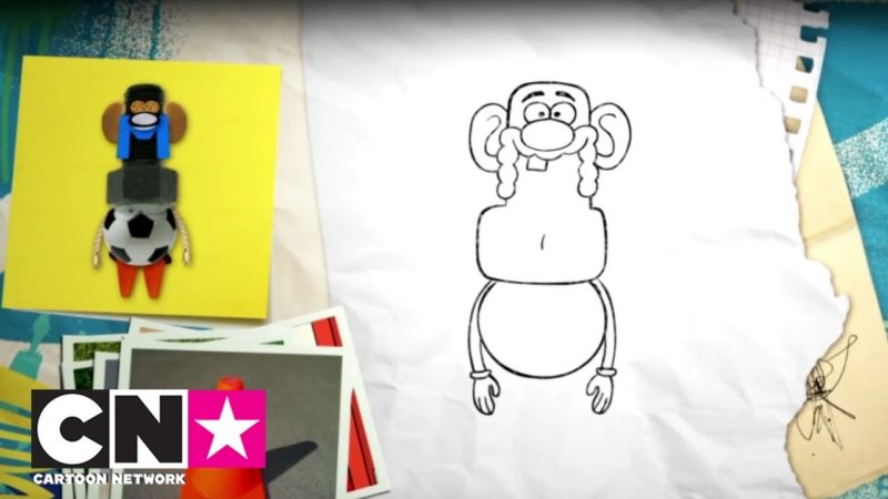 Como desenhar avô tio | CN juntos | Cartoon Network Italy