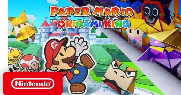 Paper Mario: The Origami King Game annunciato per Switch il 17 luglio – Notizie